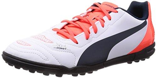 Puma  evoPOWER 4.2 TT,  Scarpe da calcio uomo, Bianco (Blanc (white-total Eclipse-lava Blast 05)), 42