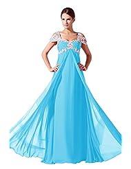 ... auf Amazon.de für: brautkleid blau weiß - Blau: Bekleidung