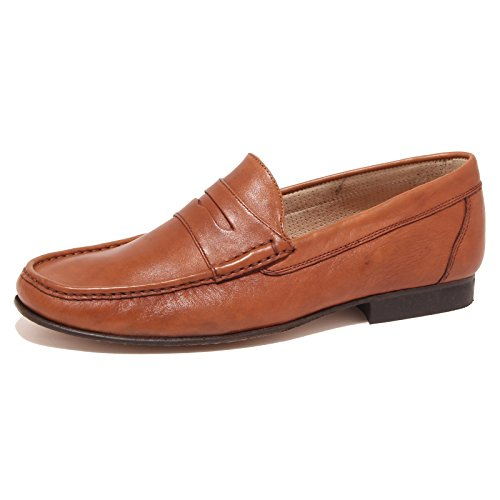 9705O mocassino SOLDINI cuoio scarpa uomo shoe loafer shoe men [45]
