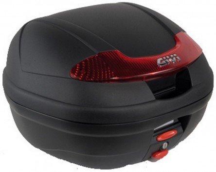 Topcase 34L GIVI E340 VISION schwarz Monolock