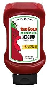 Amazon com red gold sriracha cha ketchup 20oz bottle pack of 12