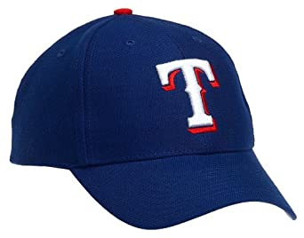 Amazon.com : Texas Rangers MVP Adjustable Cap (Royal Blue) : Baseball