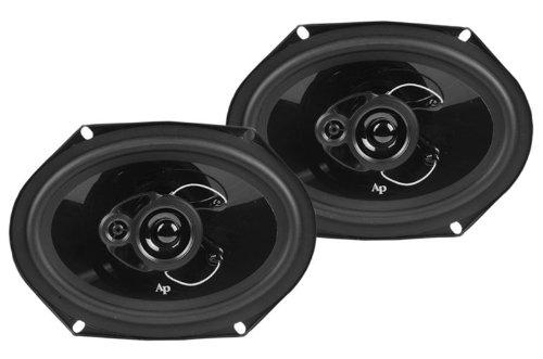 New Pair Audiopipe Speakers Csl-6803 300 Watt 6X8 Car Speaker Car Audio 300W