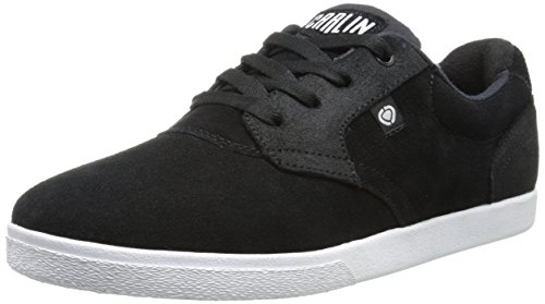 C1RCA JC01, Low-Top Sneaker Unisex - adulto, Nero (Black / White), 42.5