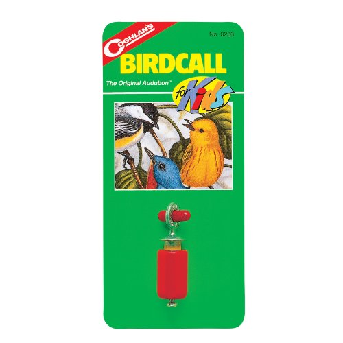 Coghlans Bird Call For Kids Birchwood Metal Various Attractive Sounds Includes Capsule
