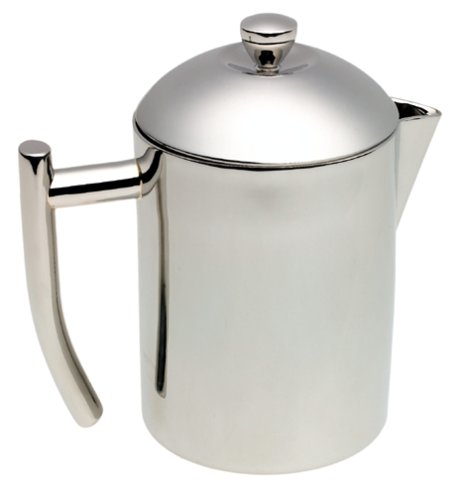 Frieling  18/10 Stainless Steel Tea Maker With Infuser Basket, 20-Ounce