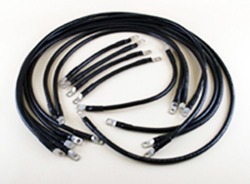 4 Awg Complete Cable Kit For E-Z-Go Dcs & Pds