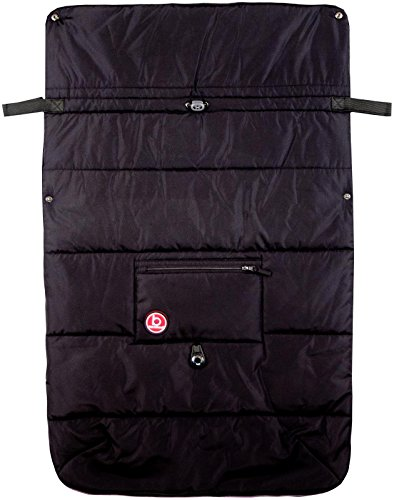 Blue Banana Stroller Blanket - Black - 1