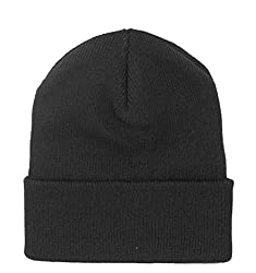 Philadelphia Rapid Transit Men's Thinsulate Cuffed Ski Hat, Black