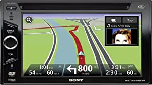 Sony XNV660BT 6.1-Inch Touch Screen Bluetooth AV Receiver with TomTom Navigation (Discontinued by Manufacturer)