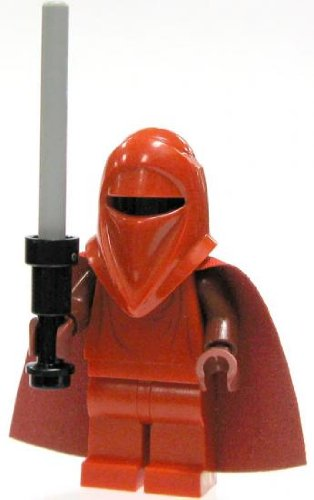LEGO Star Wars LOOSE Mini Figure Royal Guard with Gray Force Pike