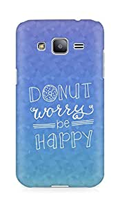 AMEZ donut dont worry be happy Back Cover For Samsung Galaxy J2