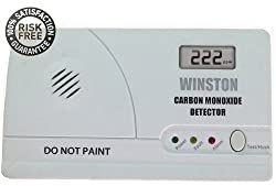 Winston Carbon Monoxide Detector Alarm to Protect your Loved Ones From Carbon Monoxide Poisoning by Honey & Willow