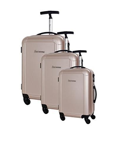 PLATINIUM Set de 3 trolleys rígidos Rhondda