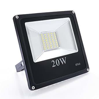 Auralum® Projecteur LED Spot Lampadaire Lumière Puissante Floodlight