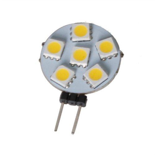 1X Warm White G4 1.2W AC 12V Bulb 140-Lumen 6500K LED Light 24 SMD 3528 Longlife