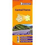 Central France Michelin Regional Map (Michelin Regional Maps)