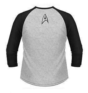 Star Trek To Boldly Go Long-sleeved Baseball Shirt - Official