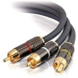 C2G / Cables to Go - 45435 - 12ft Sonicwave RCA Audio / Video Combination Cable
