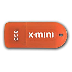 (PSF8GMUSB ) Patriot X-Porter Mini 8 GB USB 2.0 Flash Drive (1.6 ounces )