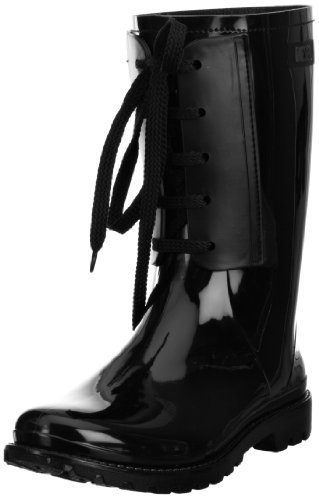 Diesel Women's Rainboot Lac-y 1 Black Wellingtons Boots Y00359PR184T8013 4 UK, 37 EU