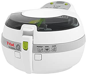 T-fal FZ7002 ActiFry Low-Fat Healthy Dishwasher Safe Multi-Cooker with nonstick interior, Whit