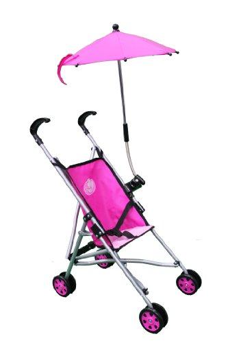 Umbrella Pink Doll Stroller With Folding Umbrella 5100G