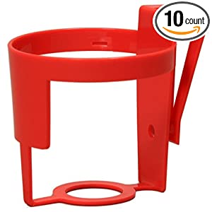 Amazon.com: Safe-Strap Clip N Sip Cup Holder for Shopping Cart