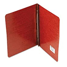 ACCO Pressboard Report Cover, Side Bound, Tyvek Reinforced Hinge, 8.5 Inch Centers, 3 Inch Capacity, Letter Size, Red (A7025978A)