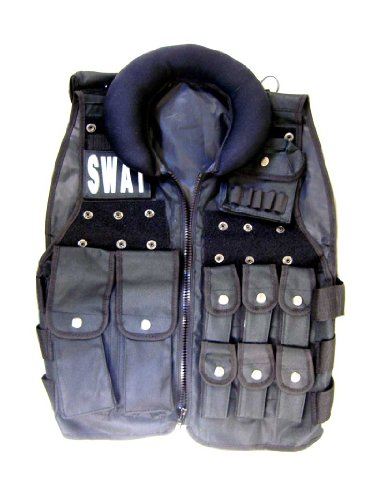 Halloween Costume for Adult Men - Police SWAT Team Cop