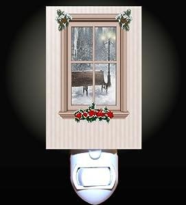 Cozy Christmas Window Decorative Night Light