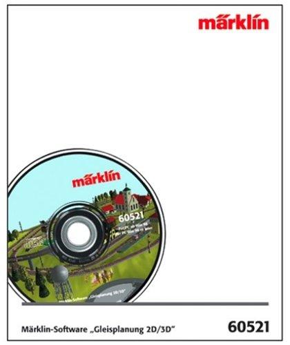 Mrklin-60521-Mrlin-SoftwGleisplanung-2D-H0