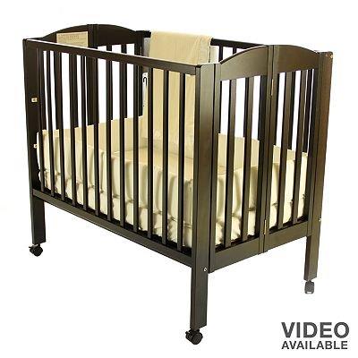 Espresso Dream On Me 3-In-1 Folding Portable Crib Baby Gift Idea front-709233