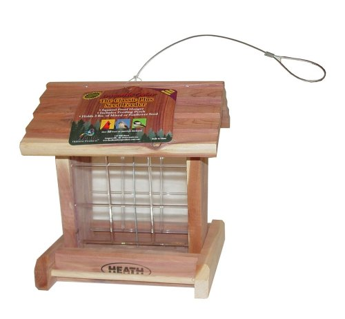 Cheap Heath Outdoor Products 152 Classic Hopper Feeder with Perch (HEATH152)