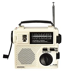 Grundig FR200 Emergency Radio (Pearl)