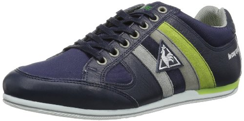 Le coq Sportif Mens MOLEON NYLON LOW Low Blue Blau (Dress Blues) Size: 47