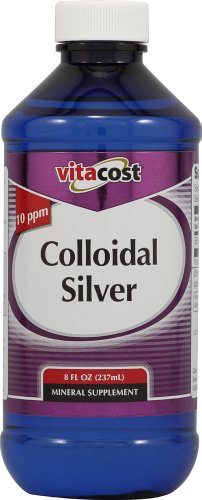 Vitacost Colloidal Silver - 10 ppm -- 8 fl oz