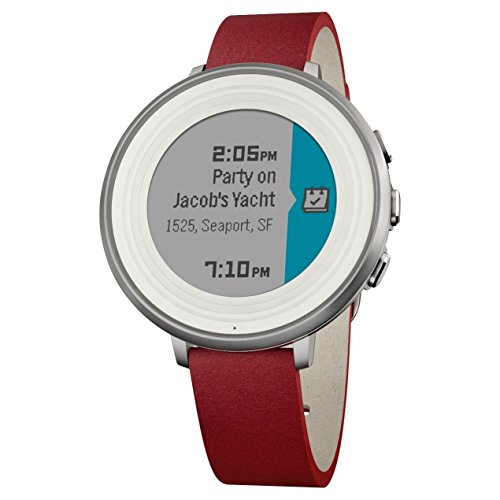 pebble-time-round-14mm-smartwatch-for-apple-android-devices-silver-red-certified-refurbished