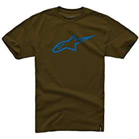 2014 Alpinestars Ageless Classic Tee - Brown - X-Large