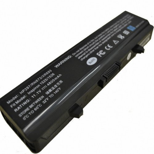 Li-ion Replacement Laptop Battery Designed For: DELL Inspiron 1525 ,DELL Inspiron 1526