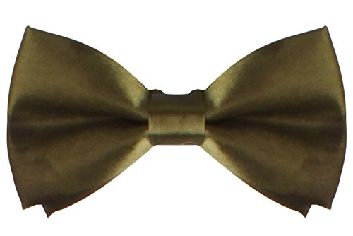 WDSKY Infant Baby Bow Ties for Boys Girls Toddler Tuxedo Bowties Olive (Bow Tie Captain America compare prices)