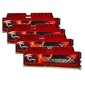 G.Skill RipjawsX Series F3-12800CL9Q-16GBXL 16GB (4 x