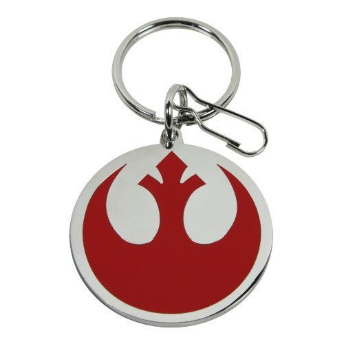 Plasticolor 004290R01 Star Wars Rebel Alliance Logo Key Chain by Plasticolor