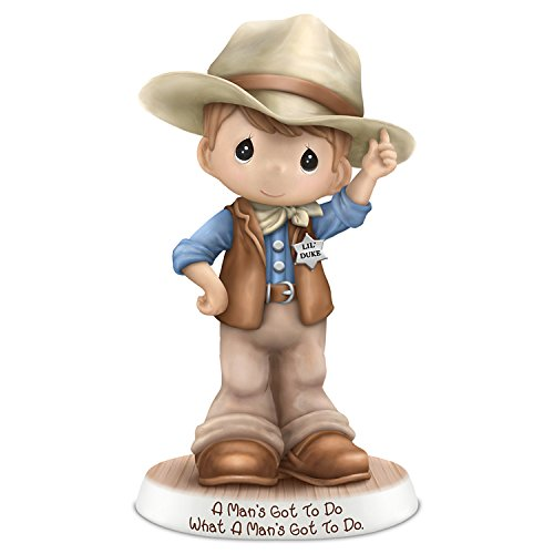Precious Moments John Wayne Tribute Cowboy Figurine: Hamilton Collection by The Hamilton Collection