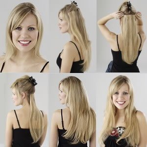 Clip in on Hair Extensions 18