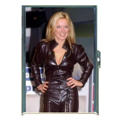 Amazon.com: GERI HALLIWELL GREAT PHOTO LEATHER DRESS ID CIGARETTE CASE