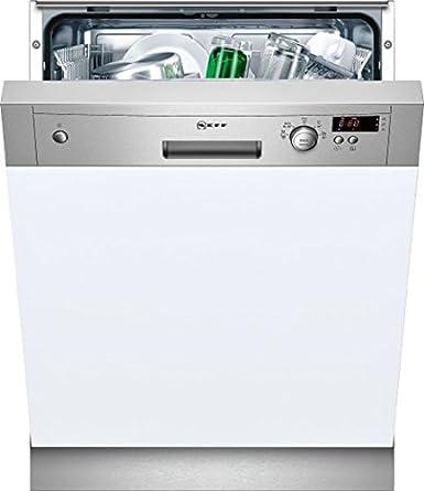 Neff S41D50N1EU Lave-vaisselle 48 dB A+ Argent, Blanc