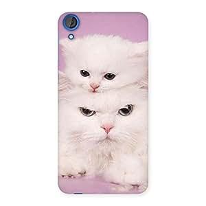 Kitten Family Back Case Cover for HTC Desire 820