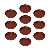 "Planters Plastic Bottom Tray 11""( PACK OF 10 Pcs )"