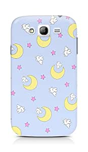 Amez designer printed 3d premium high quality back case cover for Samsung Galaxy Grand Neo (moon star )